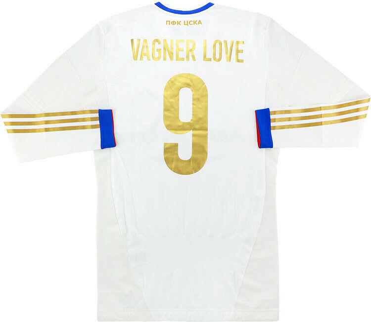 Maillot CSKA Moskow Techfit Player Issue Shirt Jersey Trikot Adidas Vagner