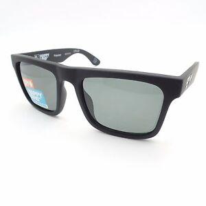 18d240009178 Spy Optics Atlas Soft Matte Black Green Polarized New Sunglasses ...