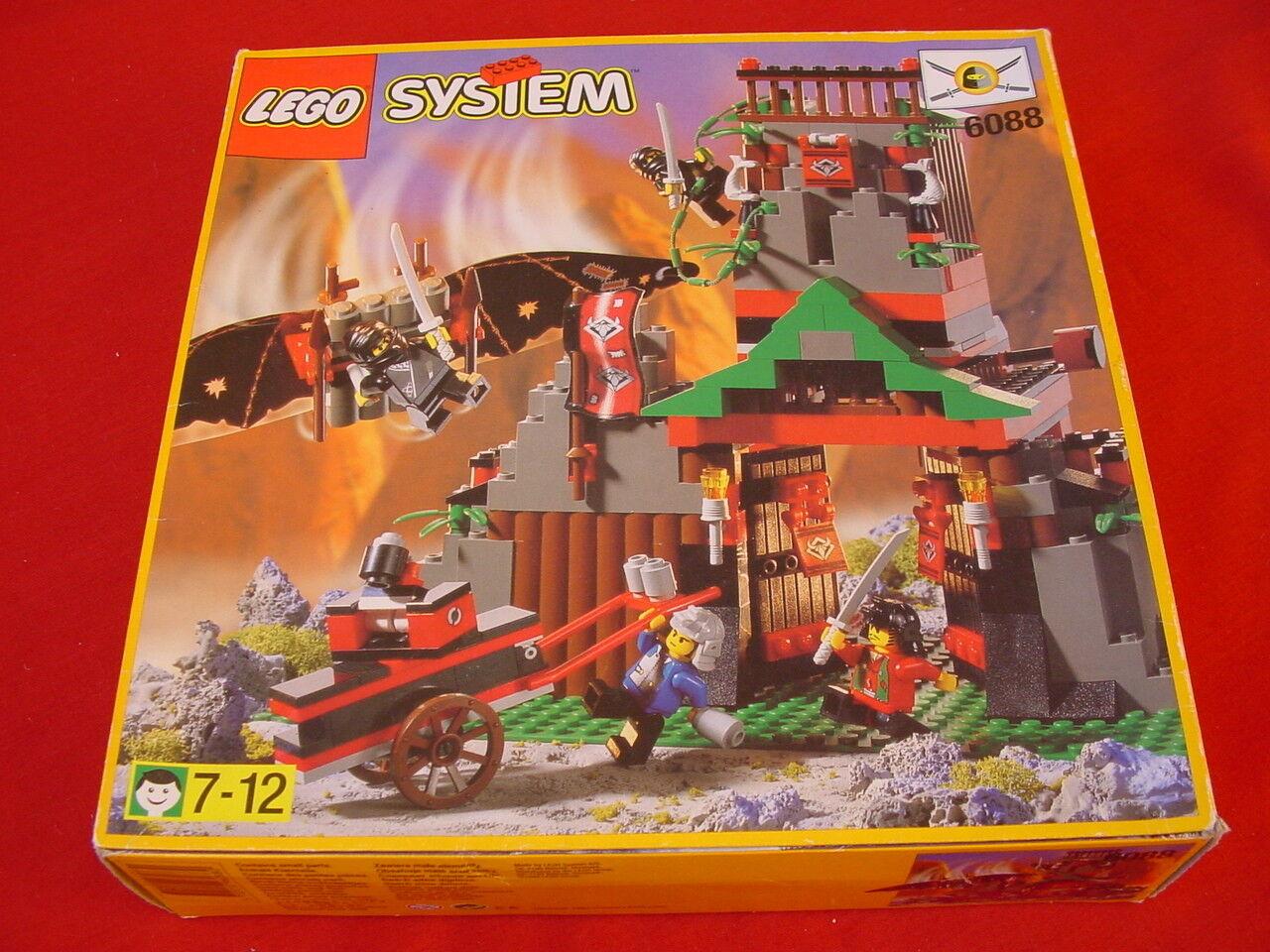LEGO 6088 NINJA ROBBER'S RETREAT 100% COMPLETE VINTAGE 1998 (see my items)