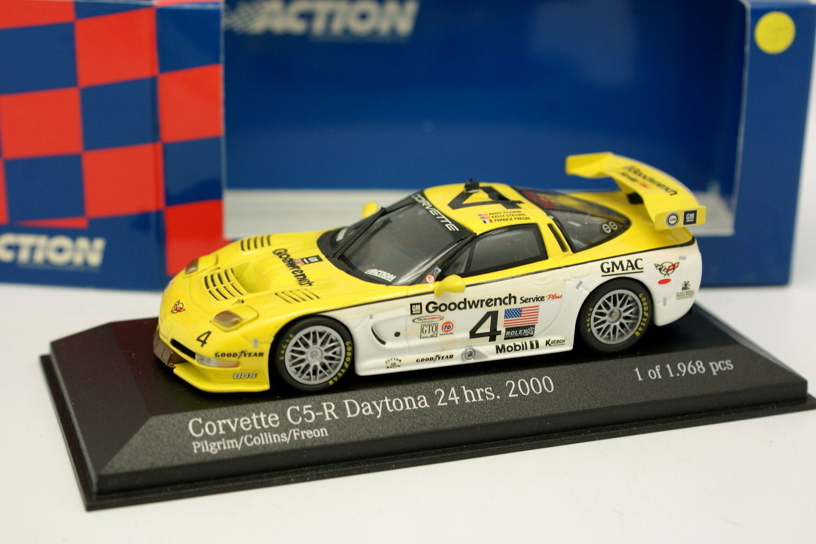 Minichamps 1 43 - Chevrolet Chevrolet Chevrolet Corvette C5 R Daytona 2000 N°4 5b21f2
