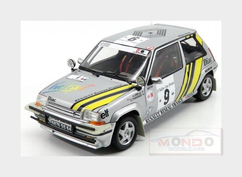 Renault R5 Supercinque Gt Turbo  9 Rally Costa D'Avorio 1989 NOREV 1 18 NV185198