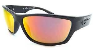 d7da52216c4 BLOC - BAIL sports wrap Sunglasses Polished Black  Red Mirror Lens ...