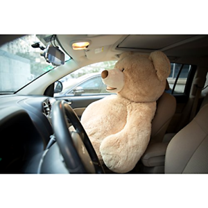 Teddy Bear Cover Unstuffed DIY Life Size Big Plush Giant Animal Toy Tan 63 Inch