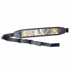 Hunting-Camo-Gun-Sling-Adjustable-Rifle-Neoprene-Padded-Strap-Non-slip