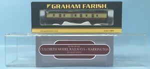 GRAHAM-FARISH-039-N-039-GAUGE-374-026C-CRIMSON-CREAM-MK1-BG-FULL-BRAKE-COACH-BOXED