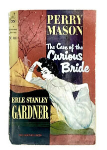 The Case Of The Curious Bride Vintage 1958 Perry Mason Mystery Pocket C-324