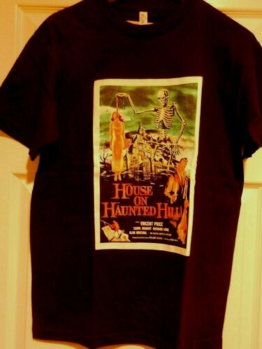 Vincent Price Mens Unisex T-Shirt Available Sm to 2x House on Haunted Hill