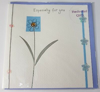 Happy Birthday Card Cute Special Aunt Auntie Roses Flowers 13.5cm x 19cm 0155
