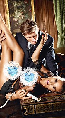 Sexy Lingerie Black Transparent Office Dress Secretary Uniform Costume UK 8-12