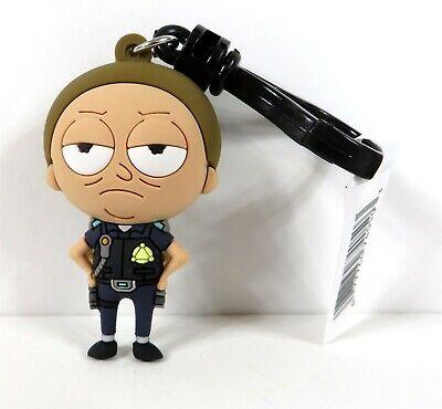Blind Bag Series 3 Key Chain Ring Cop Rick Clip Rick /& Morty NEW