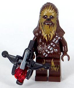 Chewbacca Minifigure Wookiee Stud-shooter Bowcaster NEW LEGO Star Wars