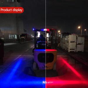 30W-LED-Forklift-Truck-RED-Line-Warning-Lamp-Safety-Working-Light-Lamp-10-80V