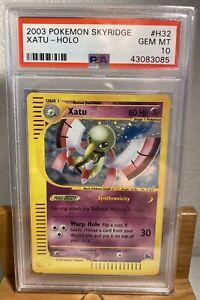 2003-Pokemon-Skyridge-H32-Xatu-Holo-Skyridge-GEM-MT-PSA-10