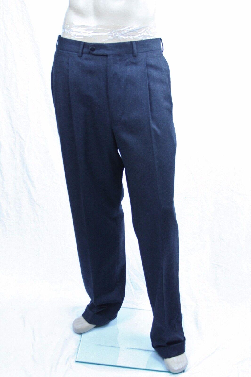 Authentic Ermenegildo Zegna Men's double pleat  wool pants US 36