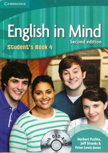 1 of 1 - Cambridge ENGLISH IN MIND 4 Student's Book SECOND EDITION with DVD-ROM @New@