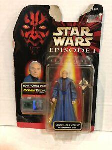 Star Wars Episode I Chancellor Valorum Figure Hasbro 1998
