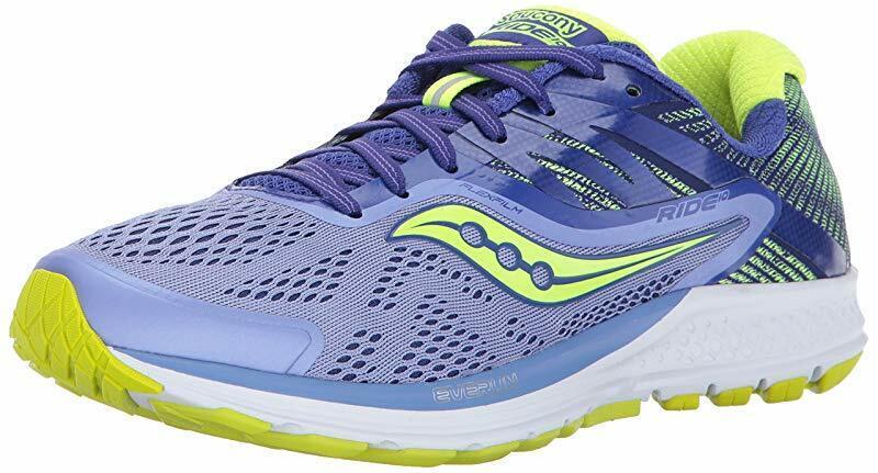 Saucony Ride 10 Calzado para Correr Correr Correr Para Mujer, Citron púrpura, nos 5.5 B 9150e6