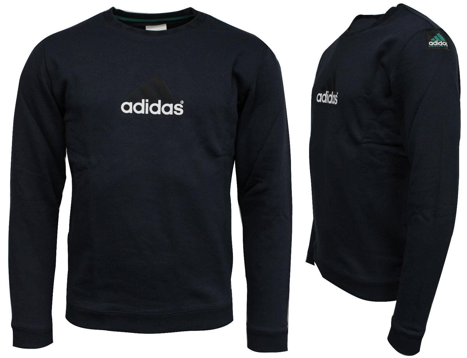 Adidas Originals Eqt Equipment Herren Rundhals Sweatshirt Pulli Marineblau      Exquisite Verarbeitung