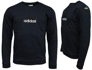 Detalles de Adidas EQT Crew Navy bk7666 jersey caballeros azul oscuro + nuevo + ver título original