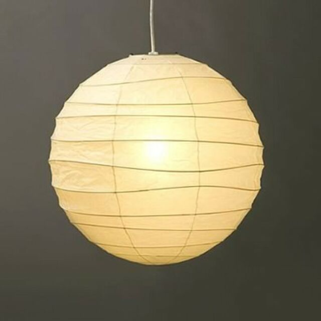 Isamu Noguchi Akari 60d Shade Only Pendant Lamp Washi Anese Light Handcraft