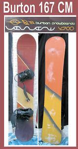 Snowboard-Burton-Brand-167-CM-w-Bindings-Brown-nice-gloss-in-San-Diego
