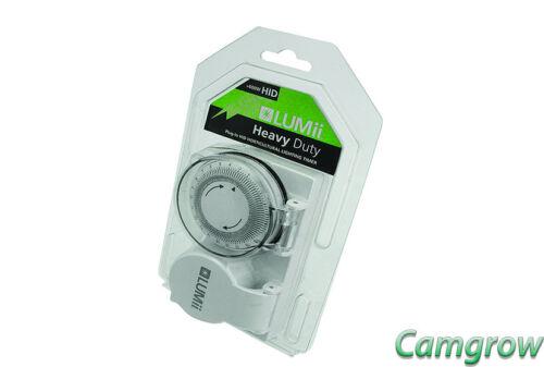 Heavy Duty Timer /& Contactor Hydroponics Lumii