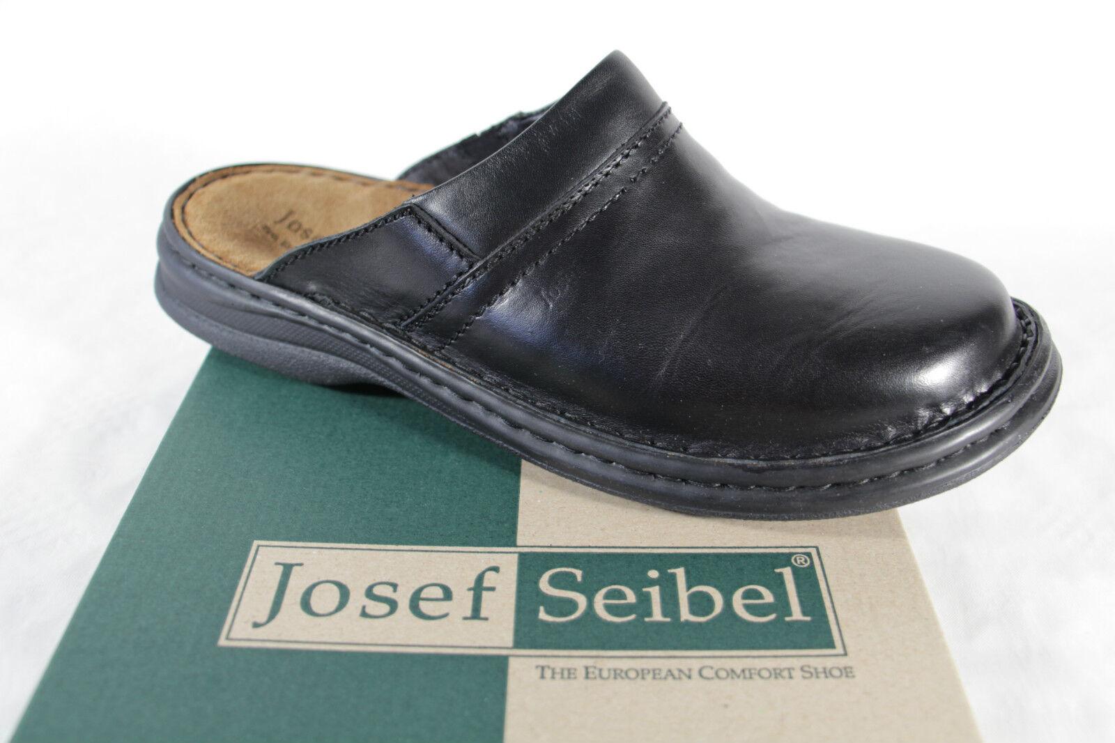 Seibel Clogs Sabot Mules nero Real  Leather 106663 Nuovo  migliore marca