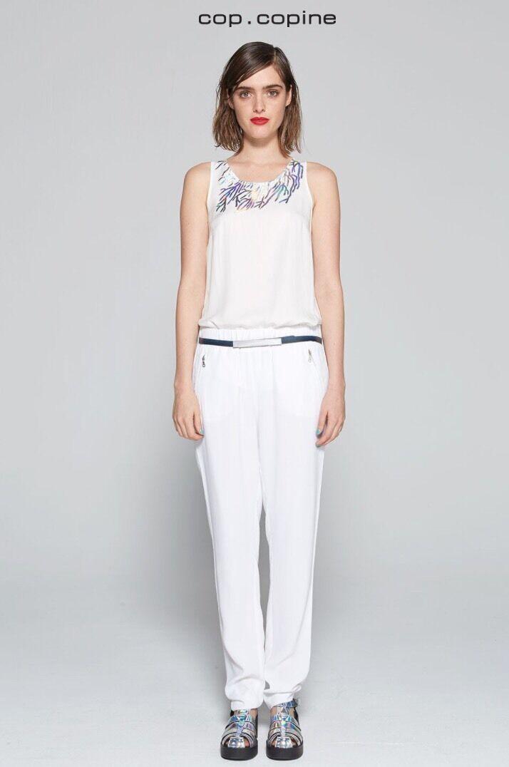 Pantalon Cop Copine Store size 36 white