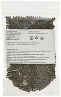 The Sprout House Organic Sprouting Seeds Speckled Snow Pea For Shoots, New, Free on sale