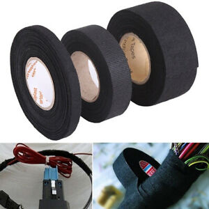 15m Adhesive Cloth Automotive Wiring Harness Tape Car Auto Heat Sound  Isolation | eBayeBay