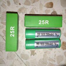 Samsung INR 25R Batería 2500mAh -20Amp -ORIGINAL- Pack Power Bank no desmontable