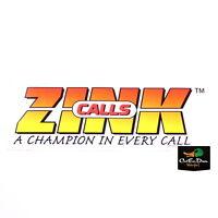 Zink Calls Logo Goose Duck Call Bumper Trailer Truck Sticker Decal 36
