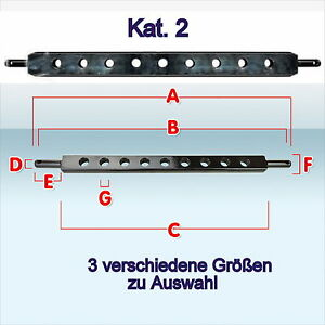 Ackerschiene-Kat-II-KAT-2-800-900-960-mm-Acker-Schiene-Traktor-Auswahl-Neu