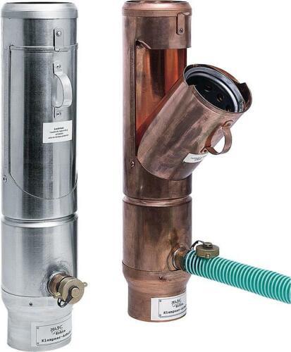 CU-Laubfänger mit Regenwassersammler 100  mm