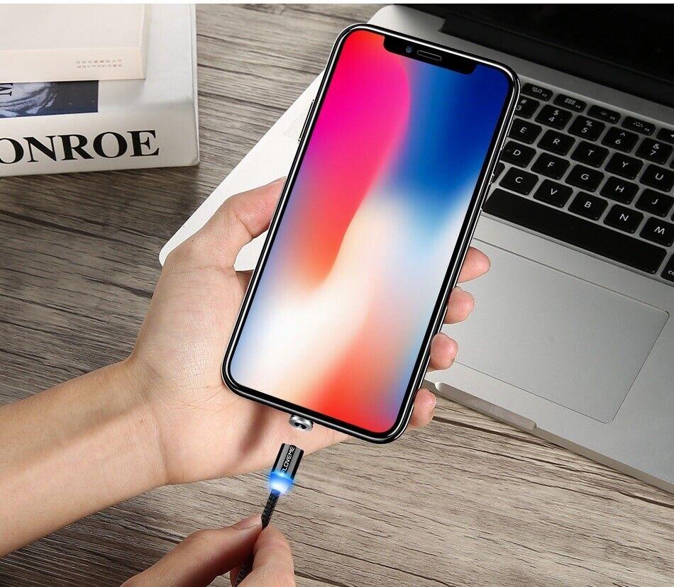 Oplader, t. iPhone, iPad magnetiske