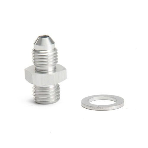 M12x1.5 Oil Feed Adapter Fitting For Volvo TD04H TD04HL 1.5mm Restricor