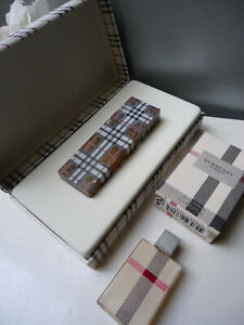 Burberry Brit Parfum 15ml Pre Reform 2000s NEU VERSIEGELT Geschenk Co BOX & Mini London