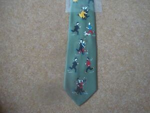 Tintin-Tie-Tintin-and-Friends-Running-Green-New-rf06