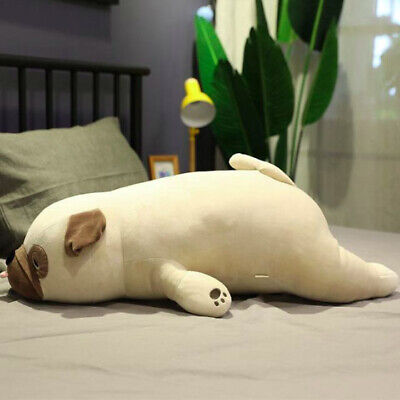 Pug Dog Plush Pillow Cute Animal Sleep Pillow 55cm Bed Home Decor Throw Pillow