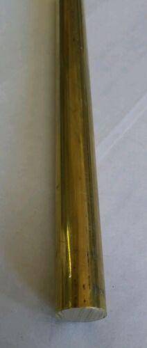 "1 pc C360 brass .5/"" round rod stock 6/"" long lathe machinist new solid bar 1//2"