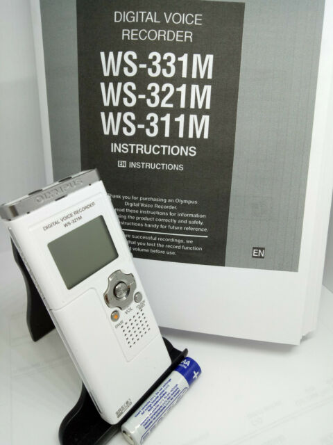 Olympus WS-321M Digital Voice Recorder Dictaphone Dictation Machine Handheld USB