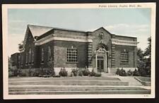 Public Library Poplar Bluff Mo Hendrickson Post Cards