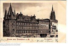 Gruss aus Frankfurt am Main AK 1901 Saalhof Hessen 1506037