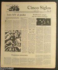 EL NUEVO DIA  / VINTAGE NEWSPAPER / CINCO SIGLOS DE HISTORIA # 6 / PUERTO RICO