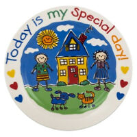 Today Is My Special Day Birthday Party Special Congratulatory Ceramic Plate