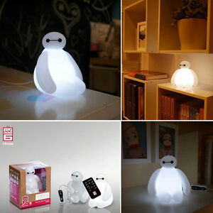 Details About IN STOCK!Big Hero 6 Baymax USB LED Lamp Disney Movie Figure  Toy Night Light Gift