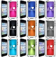 Apple Ipod Touch 4th Generation Hard Case I Love Dance