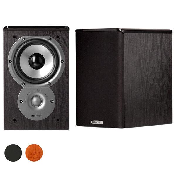 Polk Audio TSi100 2-Way Bookshelf Speakers with 5-1 4  Drivers