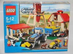 LEGO® City 7637 Bauernhof Neu OVP_LARGE FARM NEW MISB NRFB