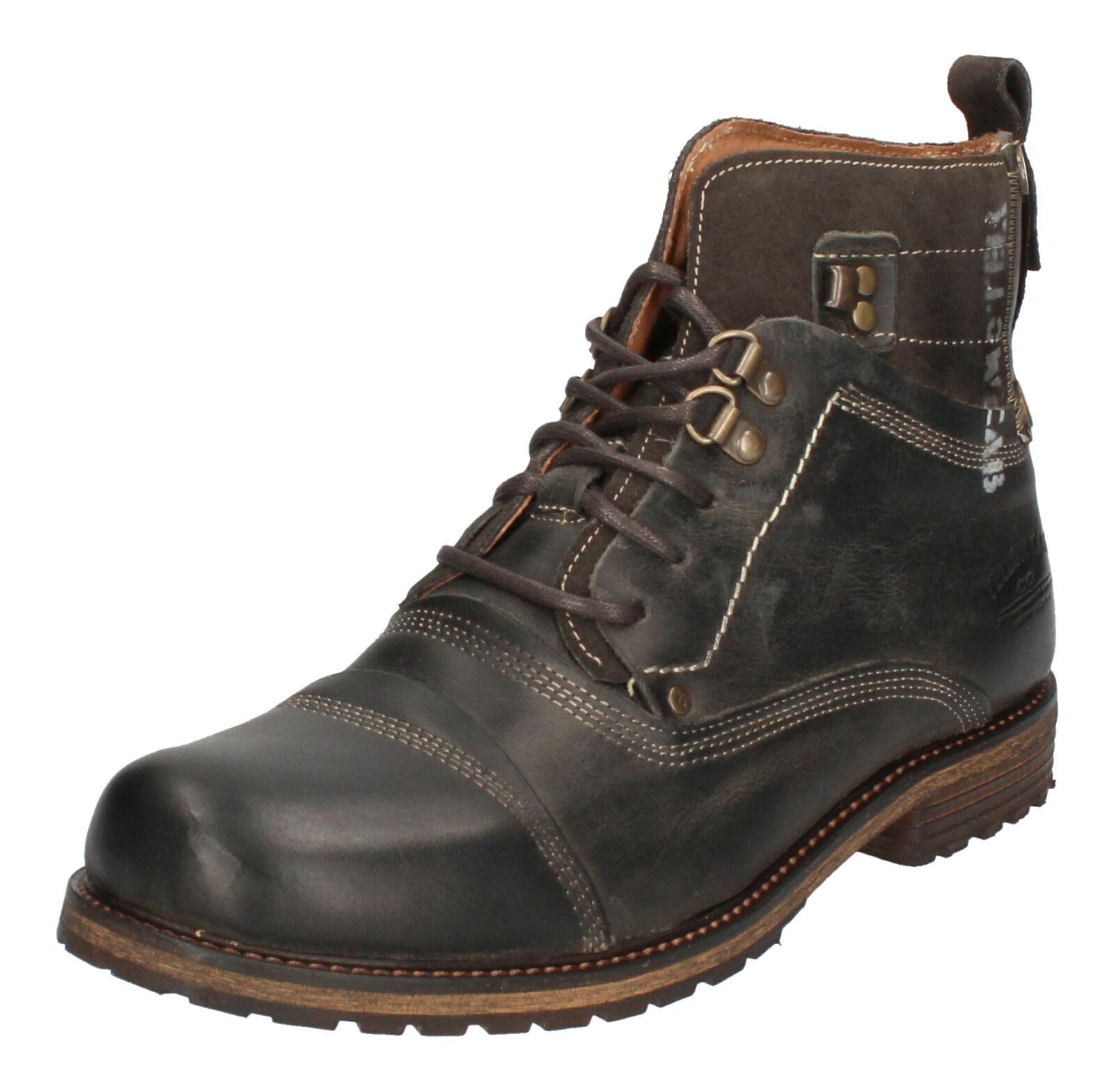 Gelb CAB Schuhe rotuziert - Stiefel SOLDIER - 15105 grau